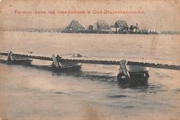Oud-Stuyvekenskerke - Fermes Dans Les Inondations - Diksmuide