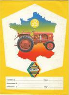 PROTEGE CAHIER THEME AGRICULTURE TRACTEUR RENAULT MOTOCULTURE D22 - Agriculture