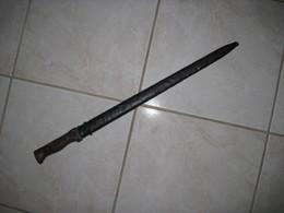 Baïonnette A Identifier - Knives/Swords