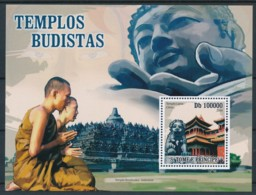 NB - [401576]TB//**/Mnh-Sao Tomé-et-Principe 2004 - Temples Bouddhiste - Buddhismus