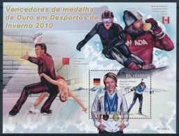 NB - [401619]TB//**/Mnh-Sao Tomé-et-Principe 2006 - Vainceurs Des Médailles D'or Des Sports D'hivers, Patinage Artistiqu - Timbres
