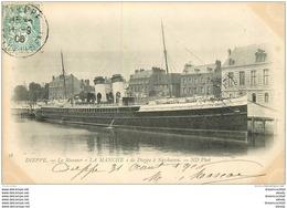 76 DIEPPE. Steamer LA MANCHE De Dieppe à Newhaven 1906 - Dieppe