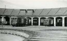 040220A TRANSPORT TRAIN CHEMIN DE FER - PHOTO BREHERET 1954 - 33 BORDEAUX Le Dépôt - Bordeaux