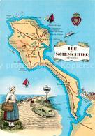 13609257 Ile_de_Noirmoutier Carte De L'ile Ile_de_Noirmoutier - Ile De Noirmoutier