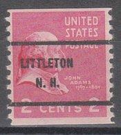 USA Precancel Vorausentwertung Preo, Bureau New Hampshire, Littleton 841-61 - Vereinigte Staaten