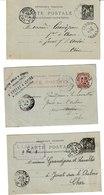 Cher JOUET SUR L'AUBOIS 18 Cartes Lettres Adressées à Mr Grandjean Fabricant De Chaux Entre 1895 Et 1904 - Autres Communes