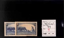 D - [816475]TB//**/Mnh-c:44e-France 1940 - N° 457, La Femme Au Labour, Agriculture, Guerre, En 2 Nuances, Bonne Valeur - Unused Stamps