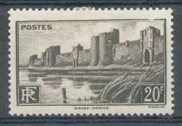 D - [69636]TB//*/Mh-N° 501-cu, Cadre Brisé En Haut. - Curiosities: 1941-44 Mint/hinged