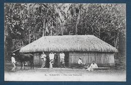 TAHITI - Une Case Indigène - Tahiti