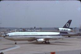 ONA  DC 10   N1034F   ORIGINAL DIAPOSITIVE KODAK - Diapositive
