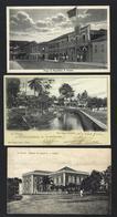 Conjunto De 3 Postais Antigos De SÃO TOMÉ E PRINCIPE. Set Of 3 Old Postcards Saint Thomas And Prince AFRICA - Sao Tome En Principe