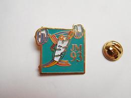 Beau Pin's , JM93 , Jeux Méditerranéens 1993 , Haltérophilie , Haltéres - Gewichtheben