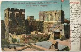 V 65051 Israele - Gerusalemme - Jerusalem - Tower Of David And Hippicus Turm - Israele