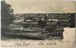 V 65052 Israele - Gerusalemme - Jerusalem From Mont Olives - Israele