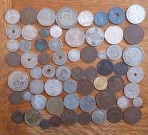 Bon Lot En Vrac De Pièces De Divers Pays - Monnaies & Billets