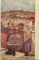 V 65053 Israele - Gerusalemme - Jerusalem - The Mont Of Olives From Moant Zion - Israele