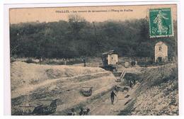CPA PRAILLES Terrassement A L Etang - France