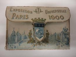 RARE CARNET DE 50 CARTES EXPOSITION UNIVERSELLE DE PARIS 1900 - Expositions