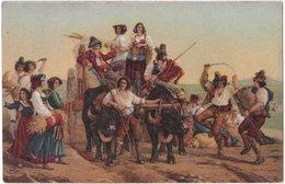 LEOPOLD ROBERT. L'arrivée Des Moissonneurs Dans Les Marais Pontins. 479 - Peintures & Tableaux