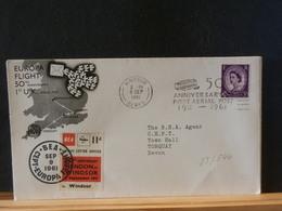 85/544 DOC.    G.B.   1961    VIGNETTE  BEA  FLAMME - 1952-.... (Elizabeth II)