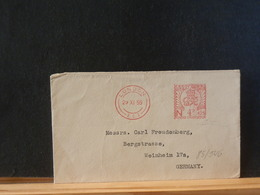85/546   LETTER   1955 TO GERMANY - Lettres & Documents