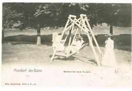 Mondorf Les Bains  (NELS,Luxbg,Série 3 N°12.Balançoires Dans Le Parc.. - Mondorf-les-Bains