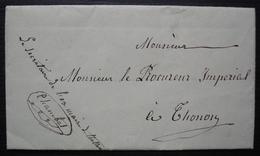 Thollon Les Mémises (Haute Savoie) Lettre Pour Le Procureur Impérial, Enquête Sur Le Nouveau Maire (Sache) - 1849-1876: Période Classique