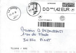 Lettre Suivie 2020 - 1961-....