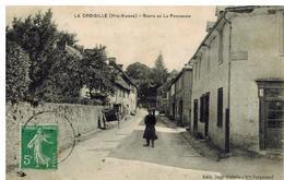 La Croisille : Route De La Porcherie, Animation - France