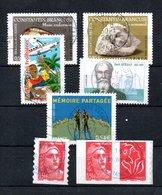 B373-24 France Oblitéré N° 3963 à 3964 + 3974 à P3977 - Oblitérés