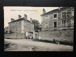 39 -  GROZON - Entrée Des Salines - 110 - France