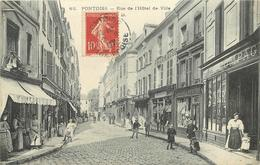 PONTOISE - Rue De L'hôtel De Ville. - Pontoise