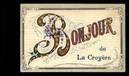 BELGIQUE - LA CROYERE - BONJOUR - PAILLETTES - Belgium
