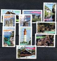 B373-28 France Oblitéré N° 3702 à 3711 - France