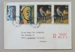 Busta Di Lettera Raccomandata Toulouse St.Michel-Solarolo - 22/06/1971 - Cartas