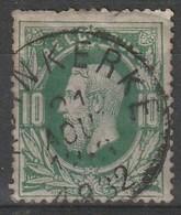 COB N° 30 Oblitération  ADINKERKE 1882 - 1869-1883 Leopold II