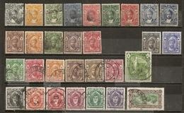 Zanzibar 1913/1952 Sultans Collection Obl - Zanzibar (1963-1968)