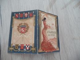 Calendrier Pub Chocolat Publicitaire 1909 Arts Nouveaux  Le Nouvelliste Lyon - Kalenders