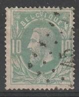 COB N° 30 Oblitération L45 / BOITSFORT - 1869-1883 Léopold II