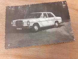 WEISSER MERZEDES - OLDTIMER - 50/60er - Automobile