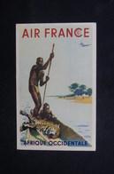 AVIATION - Carte Postale - Carte Air France - Afrique Occidentale - L 52031 - Aviation