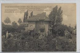 Westmeerbeek-Dorp.   -   Huis We Frans Janssens En Zonen.  -  Versiering Van Parken En Tuinen.  Uitg.: Wouters  Averbode - Hulshout