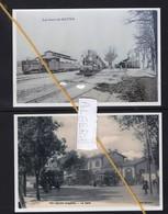 2 REPRODUCTIONS  ALGERIE TIZI OUZOU BATNA  GARE  STATION BAHNHOF TRAIN TREIN - Autres Villes