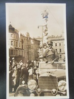 Propaganda Postkarte Hitler In Linz 1938 - Allemagne