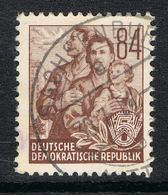 DDR 379 Gestempelt - 84 Pf. Fünfjahrplan Offsetdruck Mit Bedarfsstempel - [6] République Démocratique