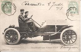 NAZZARO Sur Voiture FIAT En 1907 - Autres