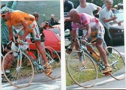 CYCLISME   Tour De France   MARCO PANTANI  2 Photos Format10 X 15 - Wielrennen