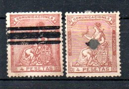 A324 Espagne  N° 138 - 1850-68 Royaume: Isabelle II