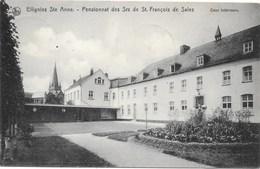 Ellignies Ste Anne NA1: Pensionnat Des Srs De St François De Sales. Cour Intérieure 1922 - Beloeil