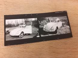 PAAR MIT WEISSEM VW-KAEFER - OLDTIMER - Automobile